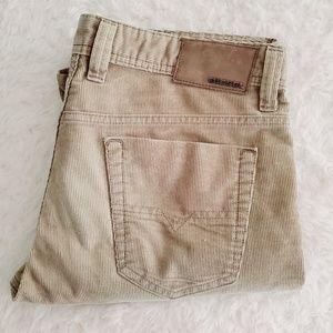 Men's Diesel Corduroy Khaki Pants